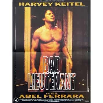 BAD LIEUTENANT Affiche de film - 40x60 cm. - 1992 - Harvey Keitel, Abel Ferrara