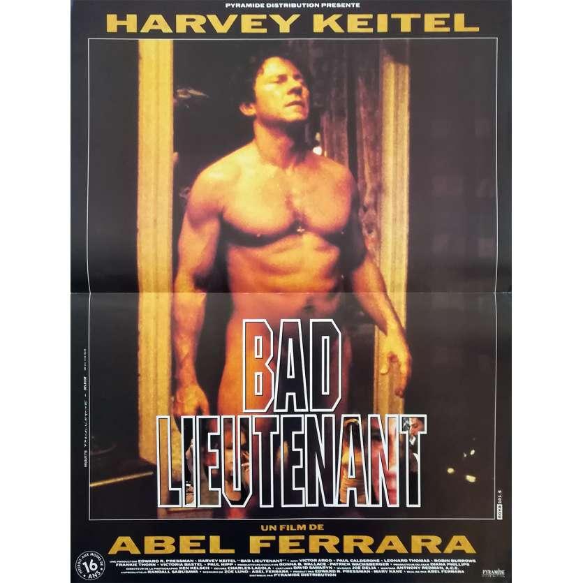 BAD LIEUTENANT Original Movie Poster - 15x21 in. - 1992 - Abel Ferrara, Harvey Keitel