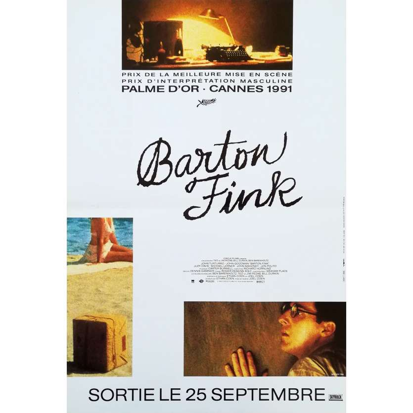 BARTON FINK Affiche de film - 40x60 cm. - 1991 - John Turturro, Coen Brothers