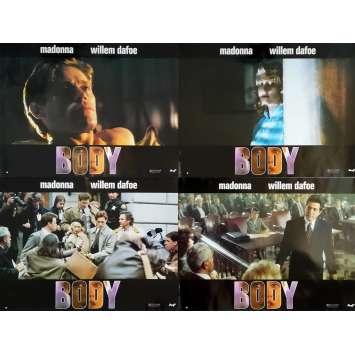 BODY Photos de film x4 - 30x40 cm. - 1993 - Madonna, Willem Dafoe, Uli Edel