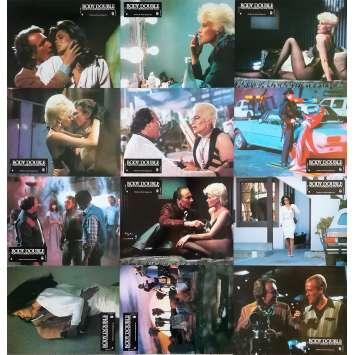 BODY DOUBLE Original Lobby Cards x12 - 9x12 in. - 1984 - Brian de Palma, Melanie Griffith