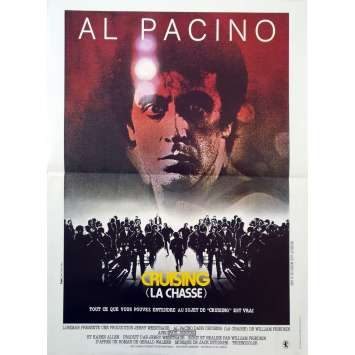 CRUISING LA CHASSE Affiche de film - 40x60 cm. - 1980 - Al Pacino, William Friedkin