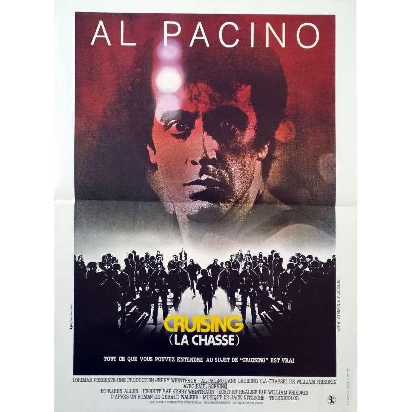 CRUISING Original Movie Poster - 15x21 in. - 1980 - William Friedkin, Al Pacino
