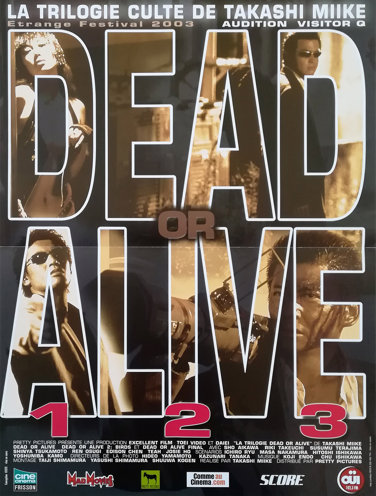 Doa Dead Or Alive Movie Poster 15x21 In