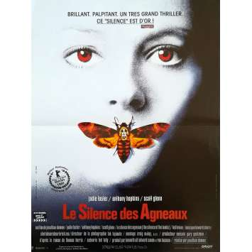 THE SILENCE OF THE LAMBS Original Movie Poster - 15x21 in. - 1991 - Jonathan Demme, Anthony Hopkins