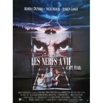 LES NERFS A VIF Affiche de film - 120x160 cm. - 1995 - Robert de Niro, Martin Scorsese
