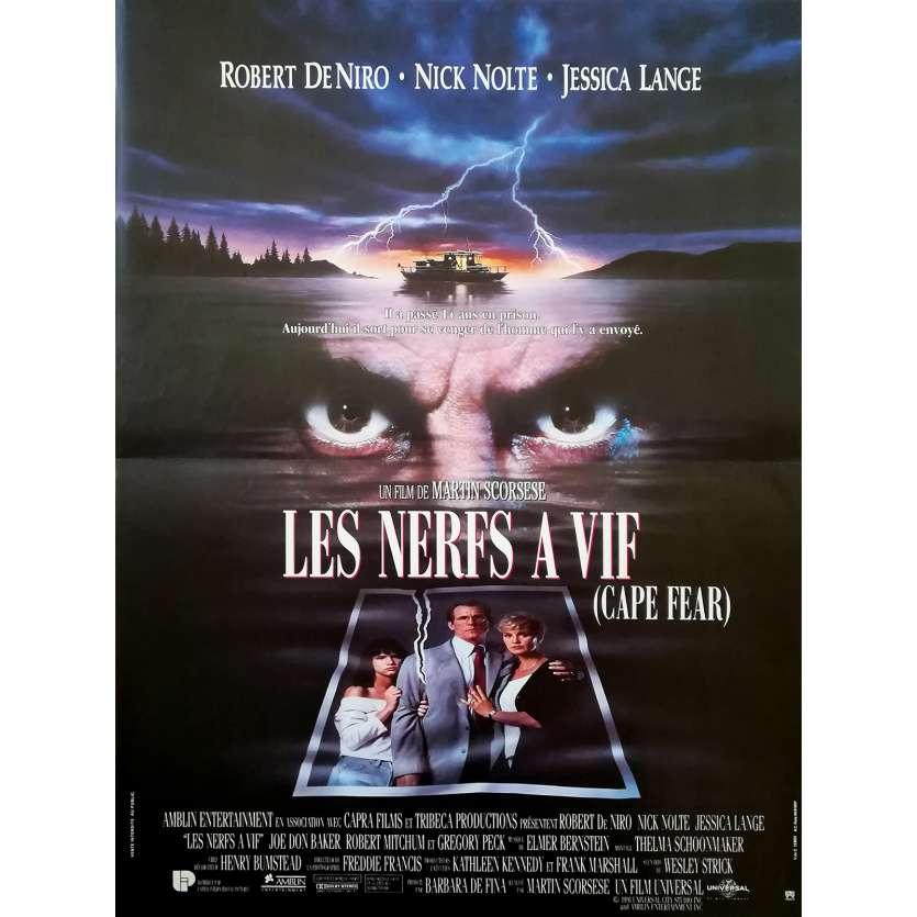 CAPE FEAR Original Movie Poster - 15x21 in. - 1995 - Martin Scorsese, Robert de Niro
