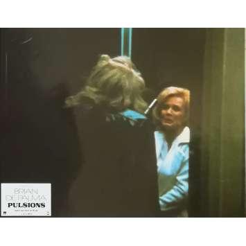 DRESSED TO KILL Original Lobby Card N04 - 9x12 in. - 1980 - Brian de Palma, Michael Caine