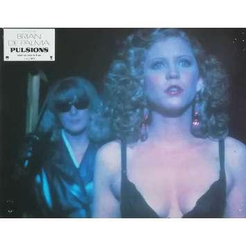 DRESSED TO KILL Original Lobby Card N03 - 9x12 in. - 1980 - Brian de Palma, Michael Caine