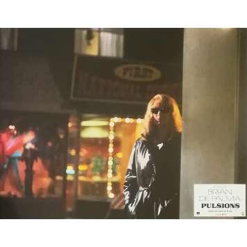 PULSIONS Photo de film N02 - 21x30 cm. - 1980 - Michael Caine, Brian de Palma