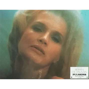 PULSIONS Photo de film N01 - 21x30 cm. - 1980 - Michael Caine, Brian de Palma