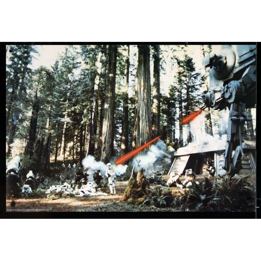 RETURN OF THE JEDI 20x30 still '83 George Lucas classic, attack base
