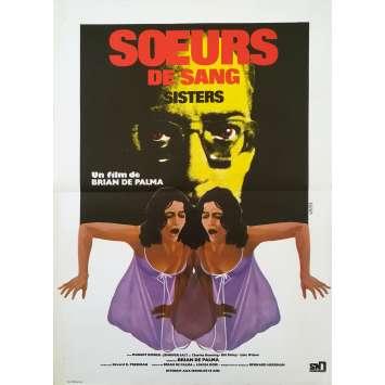 SŒURS DE SANG Affiche de film - 40x60 cm. - 1970 - Margot Kidder, Brian de Palma