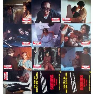 SŒURS DE SANG Photos de film x12 - 21x30 cm. - 1970 - Margot Kidder, Brian de Palma