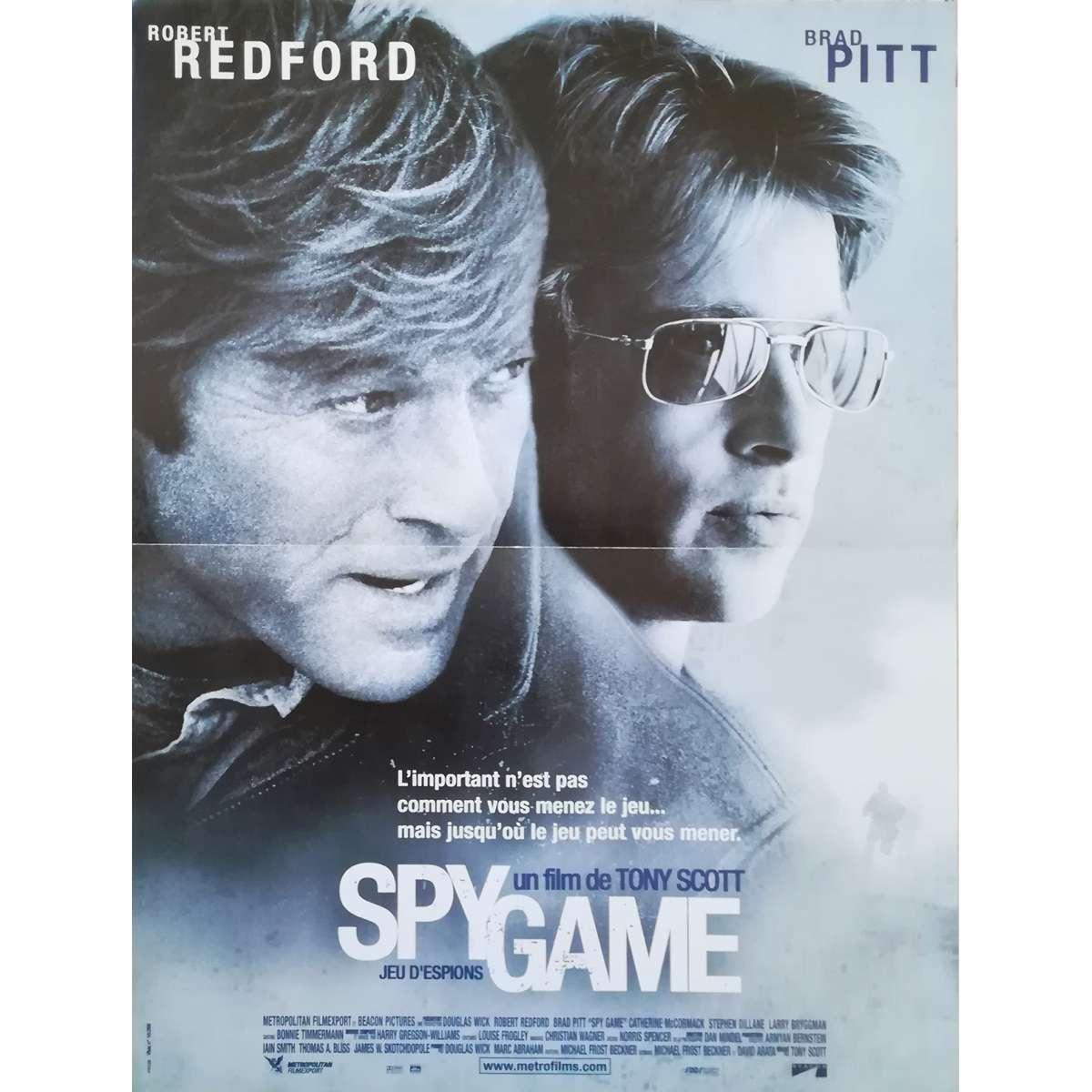 Spy Game Movie Poster 15x21 In
