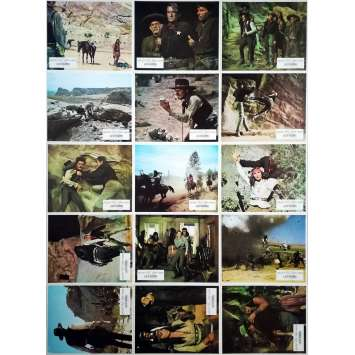 MACKENNA'S GOLD Original Lobby Cards x15 - 9x12 in. - 1969 - J. Lee Thomson, Gregory Peck