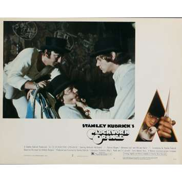 ORANGE MECANIQUE Photo de film N03 - 20x25 cm. - 1971 - Malcom McDowell, Stanley Kubrick