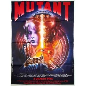 MUTANT Affiche de film - 120x160 cm. - 1982 - Jesse Vint, Allan Holzman
