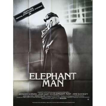 ELEPHANT MAN Affiche de film - 120x160 cm. - 1980 - John Hurt, David Lynch