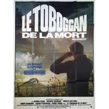 LE TOBOGGAN DE LA MORT Affiche de film - 120x160 cm. - 1977 - George Segal, James Goldstone