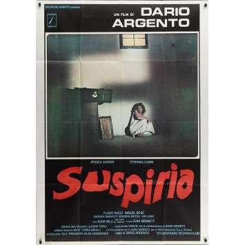 SUSPIRIA Affiche de film - 100x140 cm. - 1977 - Jessica Harper, Dario Argento
