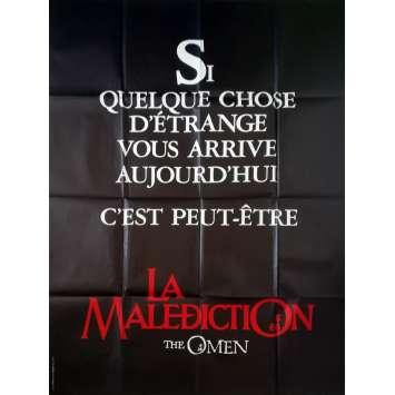LA MALEDICTION Affiche de film Teaser - 120x160 cm. - 1979 - Gregory Peck, Richard Donner