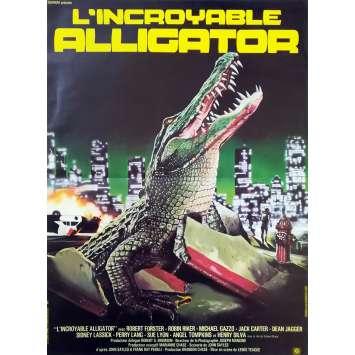 ALLIGATOR Affiche de film - 40x60 cm. - 1979 - Barbara Bach, Sergio Martino
