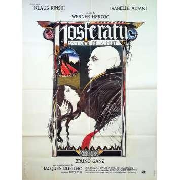 NOSFERATU Affiche de film - 120x160 cm. - 1979 - Klaus Kinski, Werner Herzog