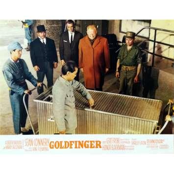 GOLDFINGER Photo de film N11 - 21x30 cm. - 1964 - Sean Connery, Guy Hamilton