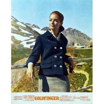 GOLDFINGER Photo de film N10 - 21x30 cm. - 1964 - Sean Connery, Guy Hamilton