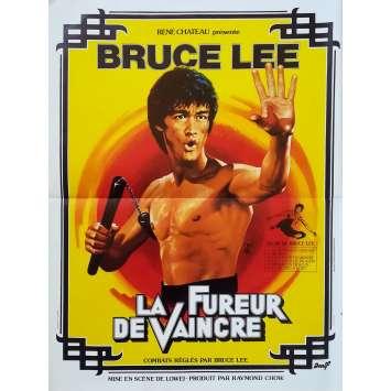 LA FUREUR DE VAINCRE Affiche de film - 40x60 cm. - 1972 - Bruce Lee, Wei Lo