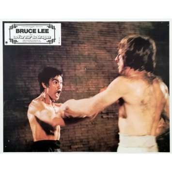 LA FUREUR DU DRAGON Photo de film N01 - 21x30 cm. - 1974 - Bruce Lee, Chuck Norris, Bruce Lee