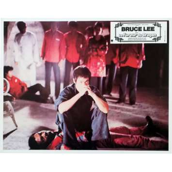 LA FUREUR DU DRAGON Photo de film N04 - 21x30 cm. - 1974 - Bruce Lee, Chuck Norris, Bruce Lee