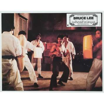 LA FUREUR DU DRAGON Photo de film N05 - 21x30 cm. - 1974 - Bruce Lee, Chuck Norris, Bruce Lee