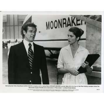 MOONRAKER Photo de presse M-13 - 20x25 cm. - 1979 - Roger Moore, James Bond