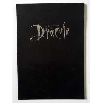 BRAM STOKER'S DRACULA Original Pressbook 40p - 9x12 in. - 1992 - Francis Ford Coppola, Gary Oldman, Winona Ryder