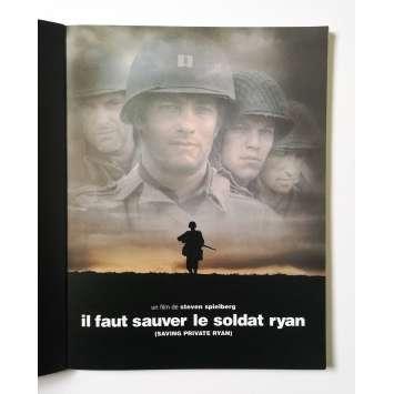 IL FAUT SAUVER LE SOLDAT RYAN Dossier de presse 64p - 21x30 cm. - 1998 - Tom Hanks, Steven Spielberg