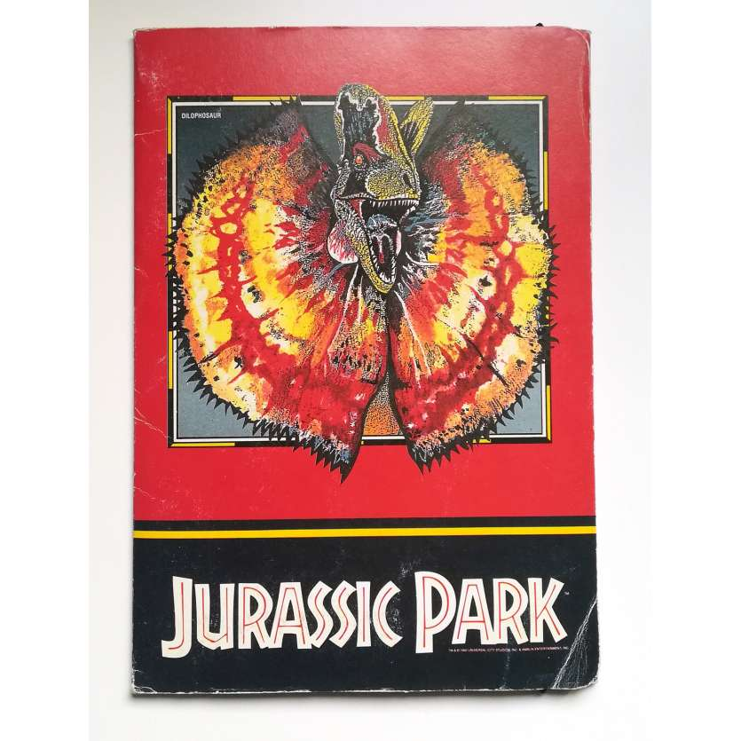 JURASSIC PARK Vintage Goodies - 7x9 in. - 1993 - Steven Spielberg, Sam Neil