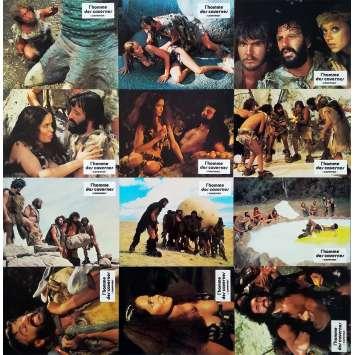 L'HOMME DES CAVERNES Photos de film x12 - 21x30 cm. - 1981 - Ringo Starr, Dennis Quaid, Carl Gottlieb