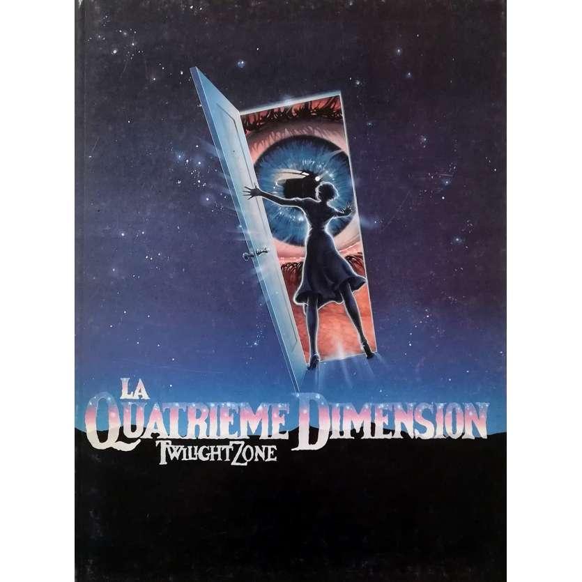 TWILLIGHT ZONE THE MOVIE Original Pressbook 80p - 9x12 in. - 1983 - Joe Dante, Dan Aycroyd