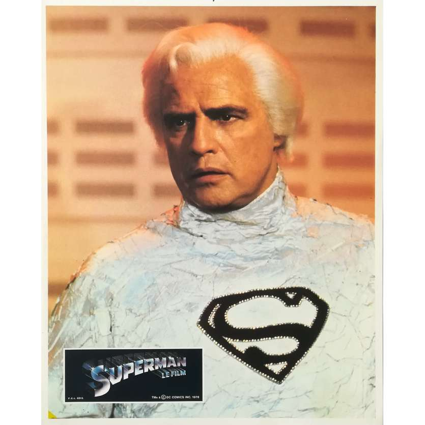 SUPERMAN Original Lobby Card - 9x12 in. - 1978 - Richard Donner, Christopher Reeves
