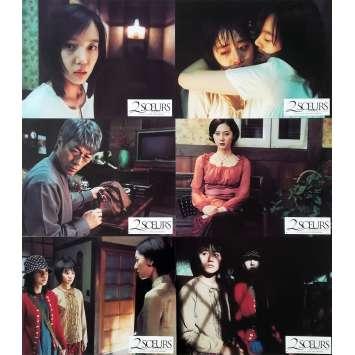 2 SŒURS Photos de film x6 - 21x30 cm. - 2003 - Kap-su Kim, Kim Jee-woon
