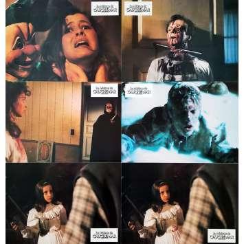 LA MAISON DU CAUCHEMAR Photos de film x5 - 21x30 cm. - 1988 - Lara Wendel, Umberto Lenzi