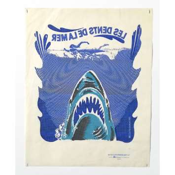 JAWS Vintage Goodies - 6x6 in. - 1975 - Steven Spielberg, Roy Sheider