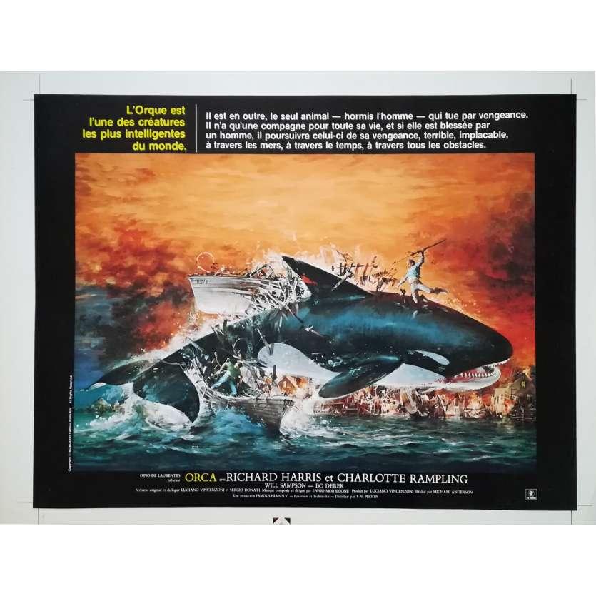 ORCA Artwork - 40x60 cm. - 1977 - Richard Harris, Michael Anderson
