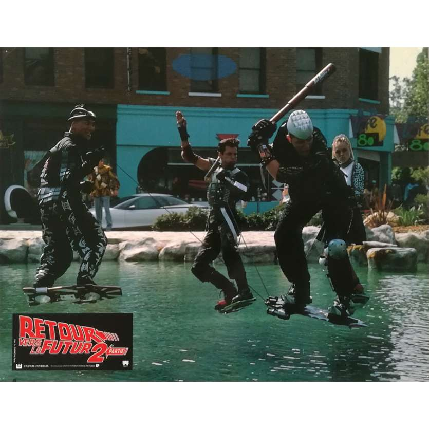 BACK TO THE FUTURE II Original Lobby Card N01 - 9x12 in. - 1989 - Robert Zemeckis, Michael J. Fox