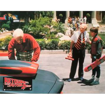RETOUR VERS LE FUTUR 2 Photo de film N02 - 21x30 cm. - 1989 - Michael J. Fox, Robert Zemeckis