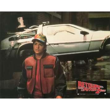 RETOUR VERS LE FUTUR 2 Photo de film N03 - 21x30 cm. - 1989 - Michael J. Fox, Robert Zemeckis