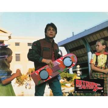 RETOUR VERS LE FUTUR 2 Photo de film N04 - 21x30 cm. - 1989 - Michael J. Fox, Robert Zemeckis