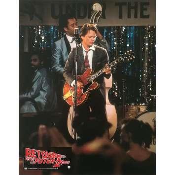 RETOUR VERS LE FUTUR 2 Photo de film N08 - 21x30 cm. - 1989 - Michael J. Fox, Robert Zemeckis